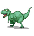 T-Rex with sharp teeth vector image