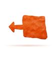 Plasticine banner vector image vector image