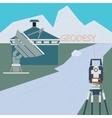 Scientific Surveying Company vector image