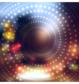 Blurred abstract background vector image
