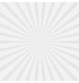 Gray sunburst with ray of light Template vector image