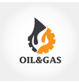 oil and gas industry design template vector image