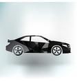 automobile icon car vehicle automotive vector image