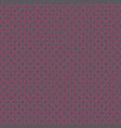 seamless pattern pink on grey vector image