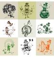 Set of nine for St Patricks Day vector image vector image