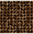 Coffee Colors Rings Diagram Seamless Pattern vector image