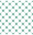 Green Polka dot Chess Board Grid White vector image