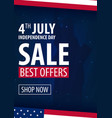 american independence day 4th of july exclusive vector image