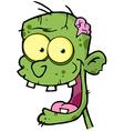Zombie Head vector image