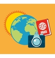 best summer vacation holiday vector image