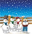 Christmas songs vector image vector image