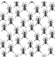 insects bug seamless pattern bugs insects vector image