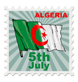 national day of Algeria vector image