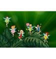 Cute fairies vector image