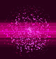 pink glitter abstract club background vector image