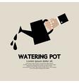 Watering pot vector image