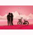 cupid love vector image