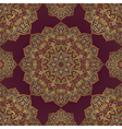Lilac pattern of mandalas vector image