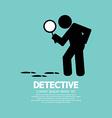 Detective Symbol Graphic vector image