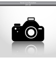photo camera web icon vector image