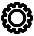 Gear Stroke Icon vector image