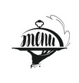 food service catering logo icon for design menu vector image