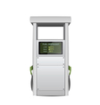 fuel dispenser vector image
