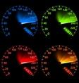 Speedometer Set vector image