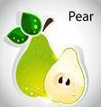 peal vector image