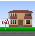 House for sale vector image