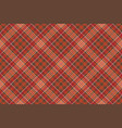 warm color diagonal check square pixel seamless vector image
