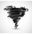 Realistic Tornado vector image