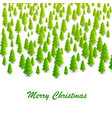 forest of trees background vector image