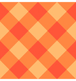 Orange Diamond Chessboard Background vector image