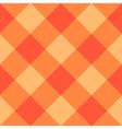 Orange Diamond Chessboard Background vector image