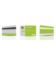 credit cards templates vector image vector image