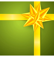 Green Gold Abstract Merry Christmas Background vector image