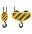 hook for building crane 02 vector image