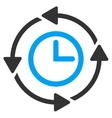 Wayback Clock Icon vector image