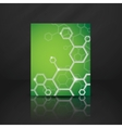 Molecule Abstract Background vector image