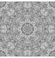 Monochrome seamless pattern in ethnic style Hand vector image