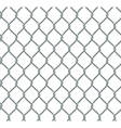 Seamless Chain Fence vector image
