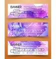 Bright Colorful Banners vector image