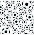 soccer ball pattern vector image