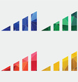 volume level icon Abstract Triangle vector image