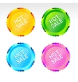 Hot Sale signs vector image vector image