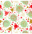 bright colorful butterflies seamless pattern vector image vector image