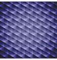 Dark blue geometric cubic background vector image