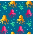 Seamless patterns sea vector image