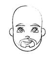 young man cartoon vector image